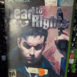 Dead to Rights, Namco, 2002
