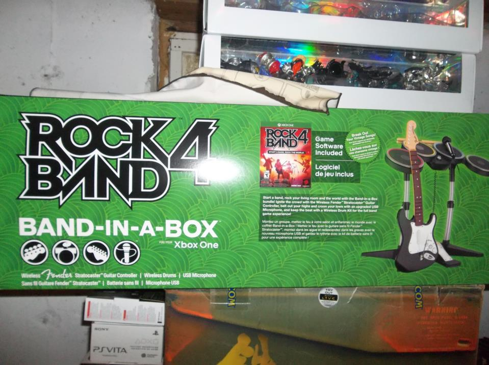 Rock Band 4 (Band-in-a-Box)