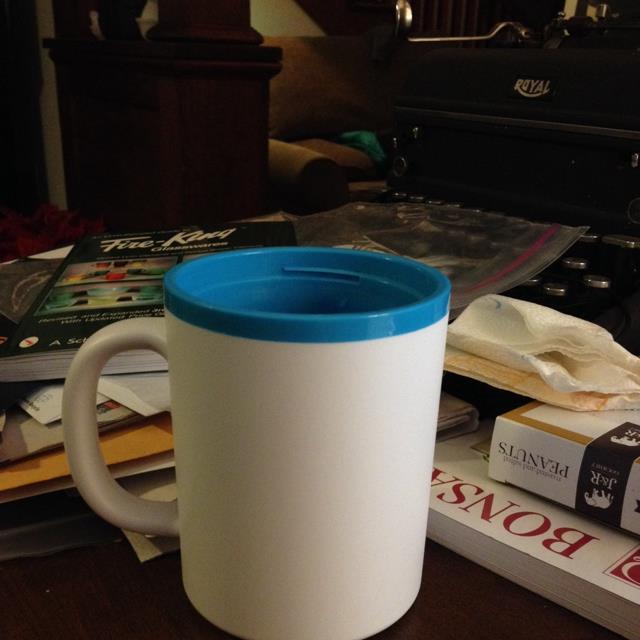 jadite mug