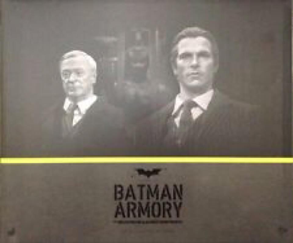 Hot Toys Batman Armory