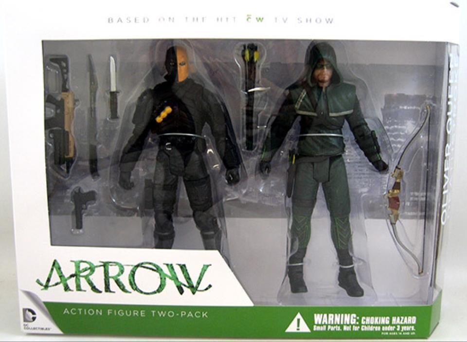 Arrow And Deathstroke