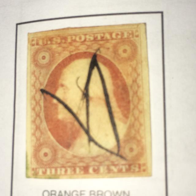 Orange Brown George Washington
