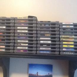NES Games and Console
