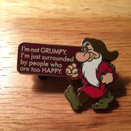 Disney Snow White Grumpy I'm Not Grumpy