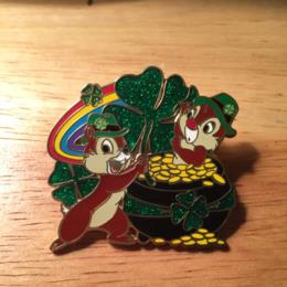 Disney Chip And Dale St Patrick's Pot Of Gold