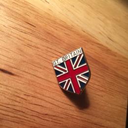 Travel Great Britain Flag Shield