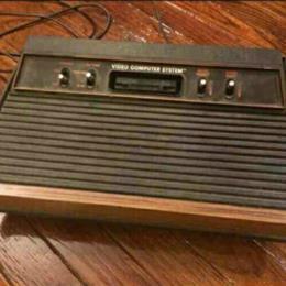 Atari 2600a console