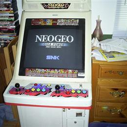 Neo 25 Neo-Geo Candy Cabinet