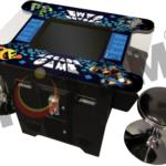 Totem 19 inch Cocktail Table Arcade Game Machine With 2 Stools