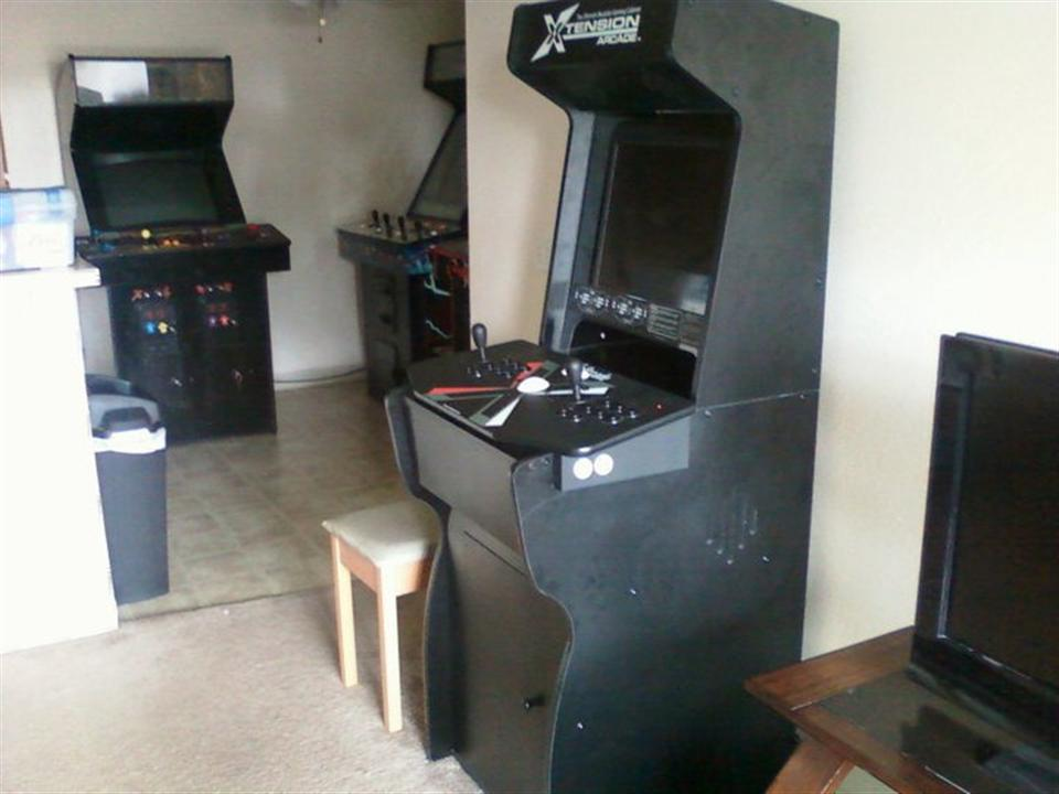 The MAME Box & The MAME Box (X Arcade tank stick and Xtension Cabinet running a ...