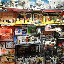 Vintage Star Wars Closet