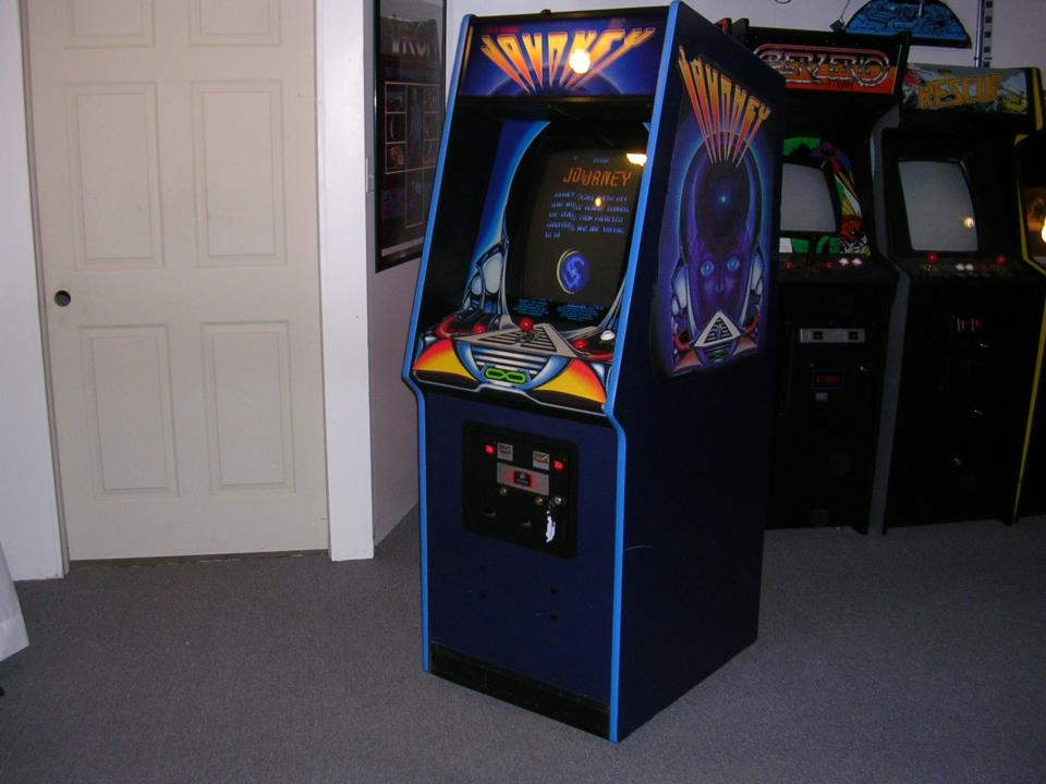 Dedicated Bally Midway Journey Video Arcade Game For Sale