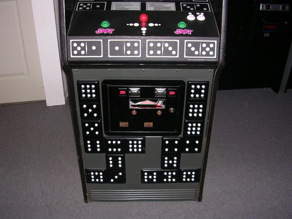 Bally Midway Domino Man Video Arcade Game For Sale By