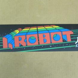 I, Robot Arcade Marquee by Atari, Header, 1983, Great Condition for sale