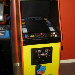 Pac-Man Midway Upright Arcade Game, Dedicated Cabinet, Great Artwork for sale