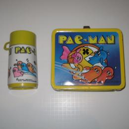Pac-Man Metal Lunchbox, Very Good Condition for sale