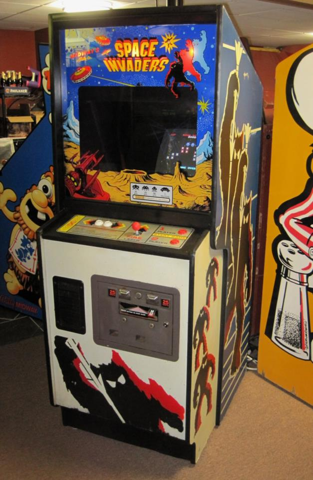 Fabulous Midway Space Invaders Multigame Upright Arcade Game 60 Games Dedicated Cabinet Download Free Architecture Designs Remcamadebymaigaardcom
