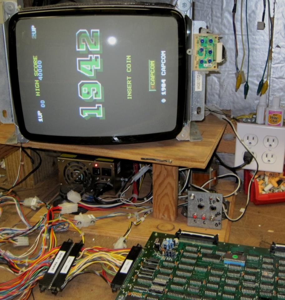 Capcom 1942 Arcade Circuit Board Pcb 1984 Works For Sale By Computer Parts Related Keywords Suggestions Long Picure Of