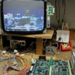 Sega Die Hard Arcade Game Circuit Board, ST-V Titan Mother Board (US), Works for sale